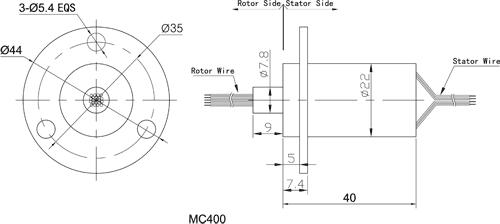 MC400 - Moflon Capsule Slip Rings