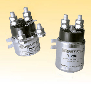 T 106, T 156, T 206 Single Pole DC Contactor