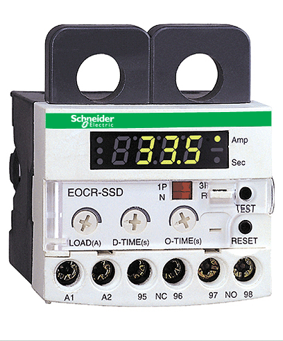 Schneider Electric Eocr Ac Current Relays Model Ssd