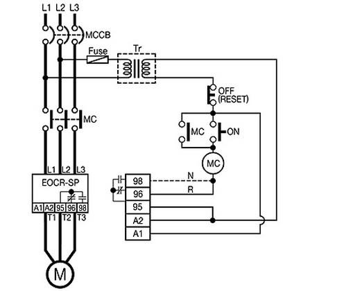 schneider electric eocr ac current relays